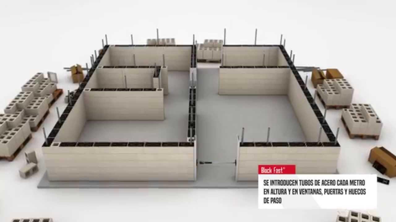 Sistema de construcción en seco Block Fast